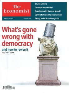 The Economist What is gone wrong with dem Title Picture